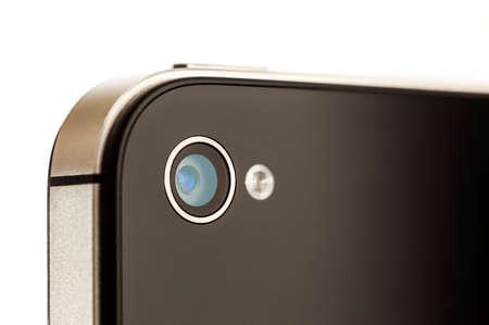 camera phone: Close up of a Smartphone Camera