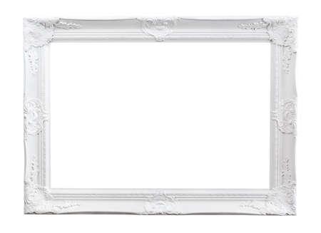 marcos cuadros: Marco adornado pintado aislado en blanco