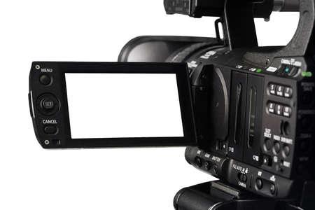 HD ビデオ カメラとファインダーをカットします。 写真素材 - 84820329