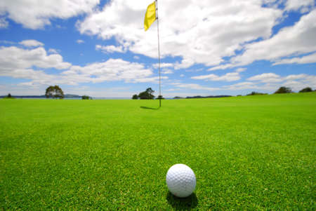 Green on beautiful Golf Course