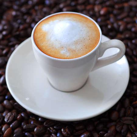 Fresh cup of espresso