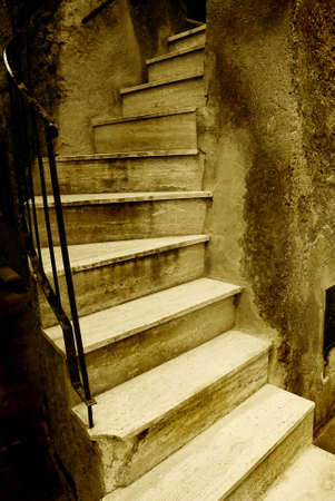 Old Italian stairway Stock Photo - 2375968