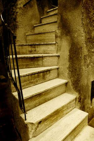 Old Italian stairway Stock Photo - 2375968