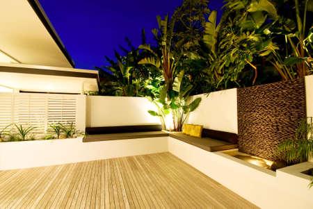 Modern indooroutdoor living in designer house
