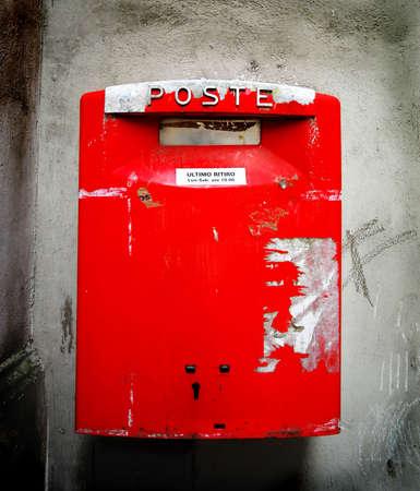 Italian post box, Italy