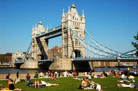 Tower Bridge London on a beautiful day