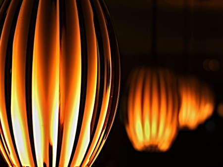 ambient: Hanging lamps with ambient light