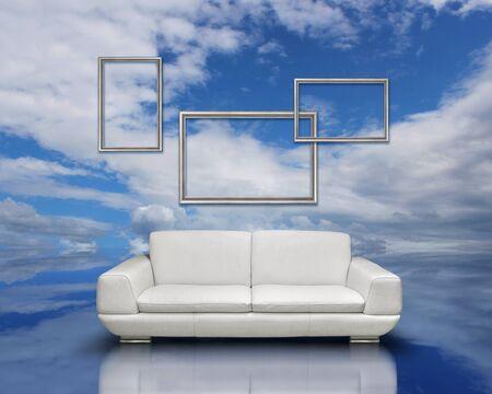 Clean air environment concept photo