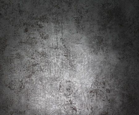 antiqued: Antiqued aged patina silver background wall surface