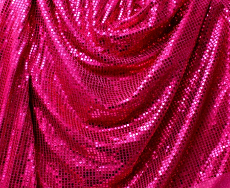 Reflective pink disco glitter canvas folded background photo
