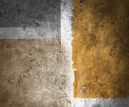 Textured background rough silver patina and sepia paper Stock Photo - 9703885