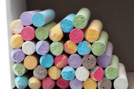 Colori pastello Artist Collection gessetti in vista anteriore della scatola Archivio Fotografico