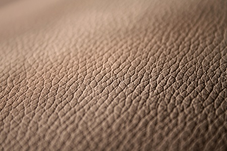 Genuine leather surface closeup background Stock Photo - 10685512