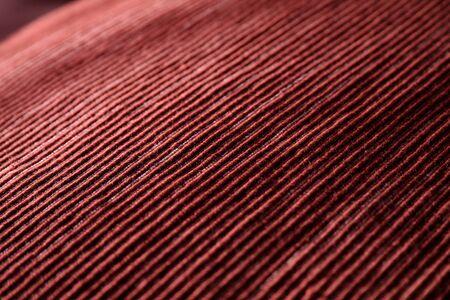 Red woven fabric closeup Stock Photo - 10685513