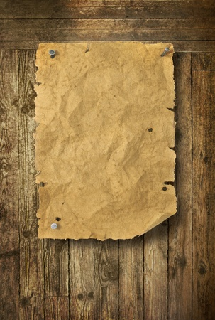 Old wood texture background Wild West style photo