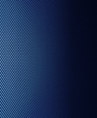 Real metal blue pattern structure surface detail background photo