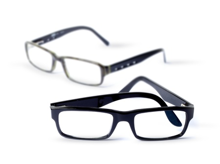 Pair of classic eye glasses photo