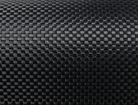 Negro tejida con fibra de carbono textura de fondo de