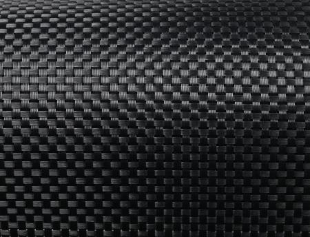 Schwarz gewebte Kohlefaser-Textur-Muster Hintergrund Standard-Bild - 15215263