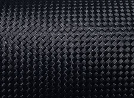 Black woven carbon fibre texture pattern background Stock Photo - 15215267