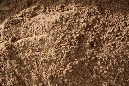 Fine sand brown natural terrain texture background Stock Photo - 16436378