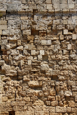 Old rough stone wall coarse texture background Stock Photo - 20774581