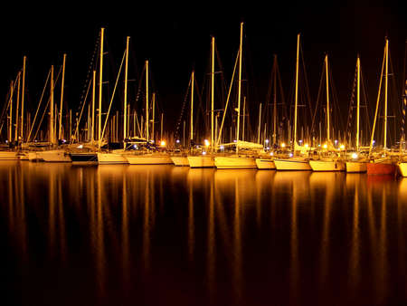 sardaigne: paysage nocturne de la Sardaigne