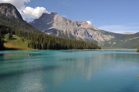 Emerald Lake, Canada Banco de Imagens