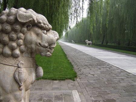 ming: Ming Tombs, China