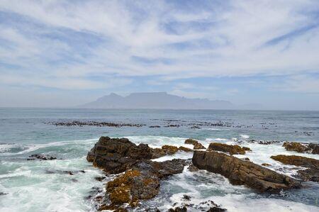 robben island: Table Mountain, South Africa
