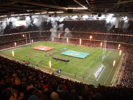 Millennium Stadium, Wales, UK Editorial