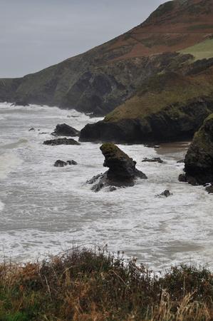 coastline: South-West Wales Coastline, UK
