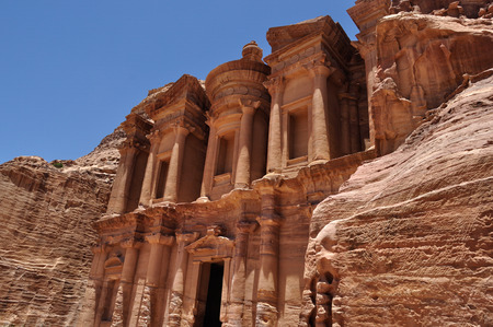 Petra, Jordanien Standard-Bild - 61333058