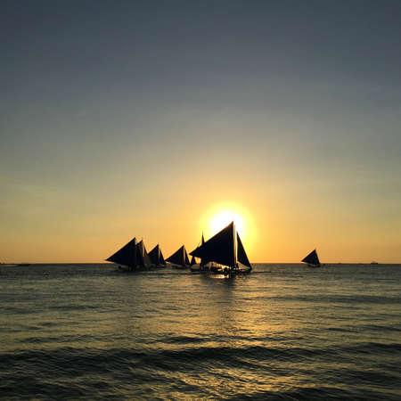 boracay: Sunset in Boracay