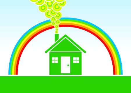 Eco house Stock Vector - 11118682