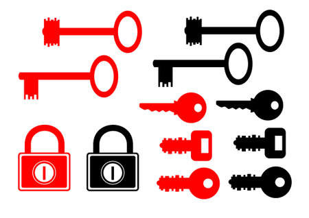 Key collection Vector