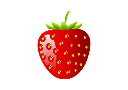 Red strawberry Stock Vector - 11194686