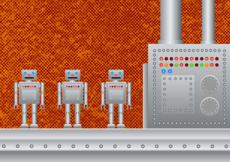 Three new robots  Vector