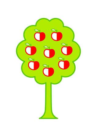 appletree: Apple-tree Illustration