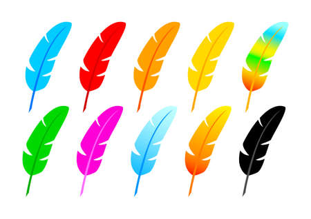 Collection of quills         Vector