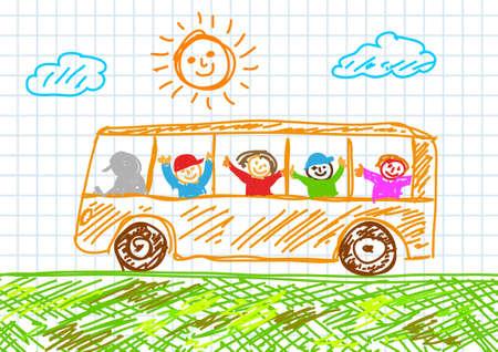 Dibujo de bus