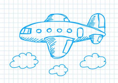 Drawing of aircraft