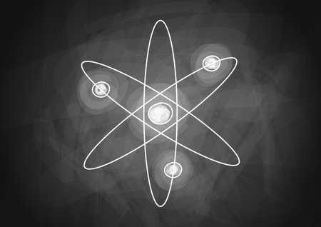 fizika: Rajz az atom