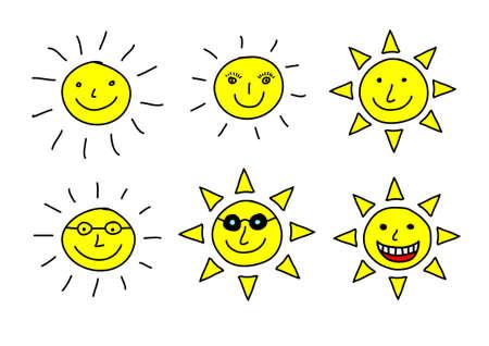 Dessin de soleil