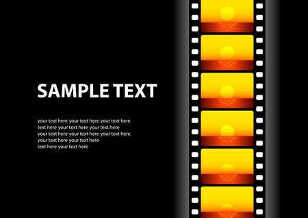 strips: Cinema background