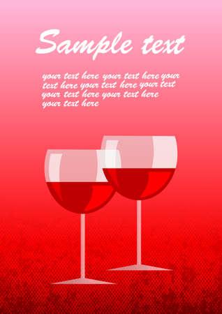 wineglasses: Two wineglasses