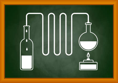 Distillation kit      Vector