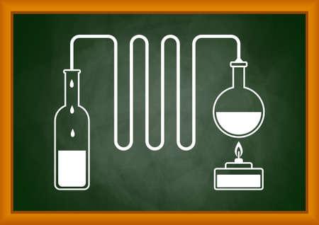 distilled water: Distillation kit