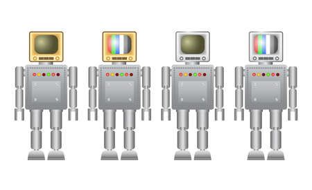 Collection of robots      Vector