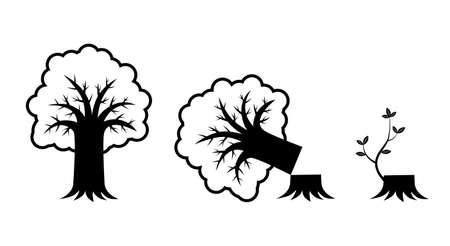 Tree icon Stock Vector - 12220382